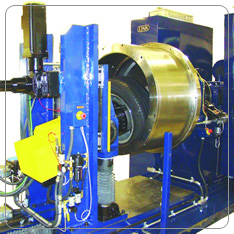 Biaxial Wheel Fatigue test Stand